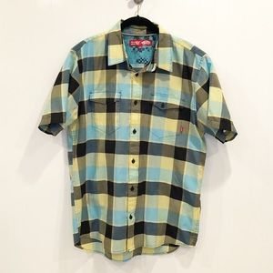 Vans Button Down Shirt, Sz L